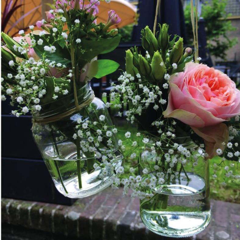 Styling bruiloft Alkmaar Huiss.nu