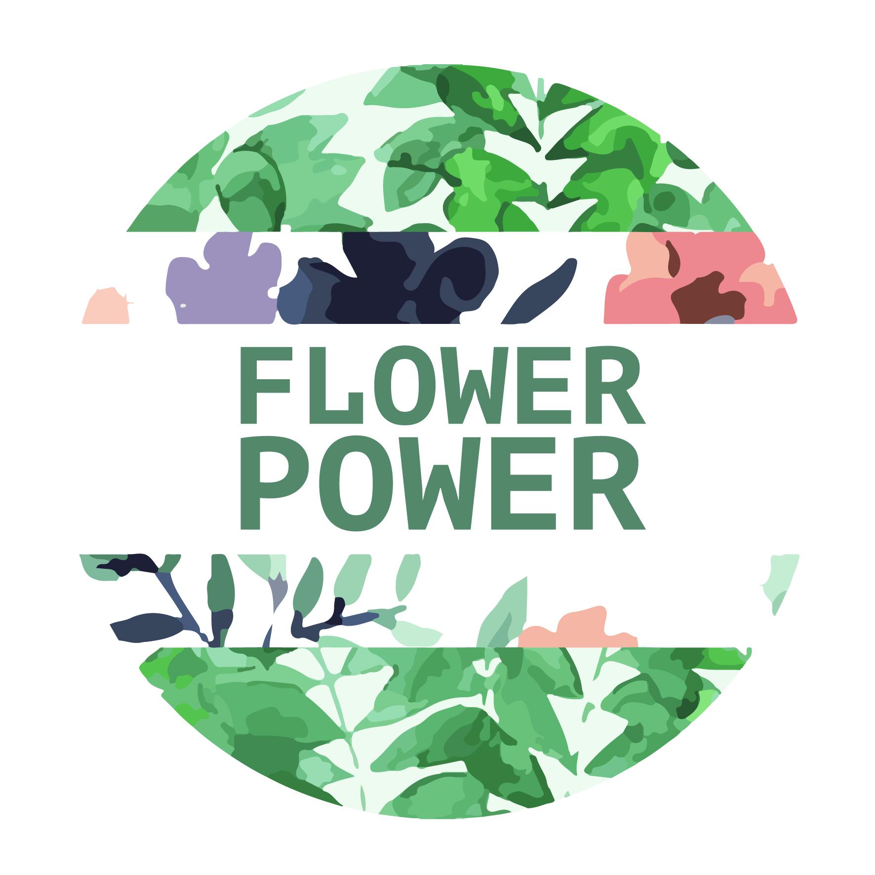 Flower power oude binnenstad alkmaar